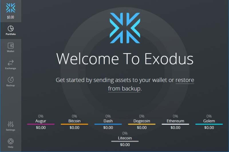 Exodusr-Cryptocurrency-Wallet